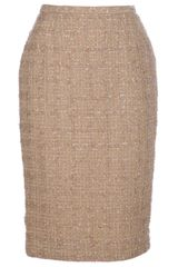 Guy Laroche Vintage Pencil Skirt - Lyst
