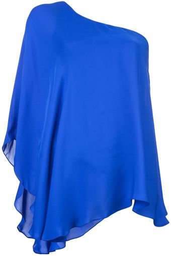 Jay Godfrey One Shoulder Top - Lyst