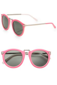 Karen Walker Harvest Round Acetate Sunglasses - Lyst