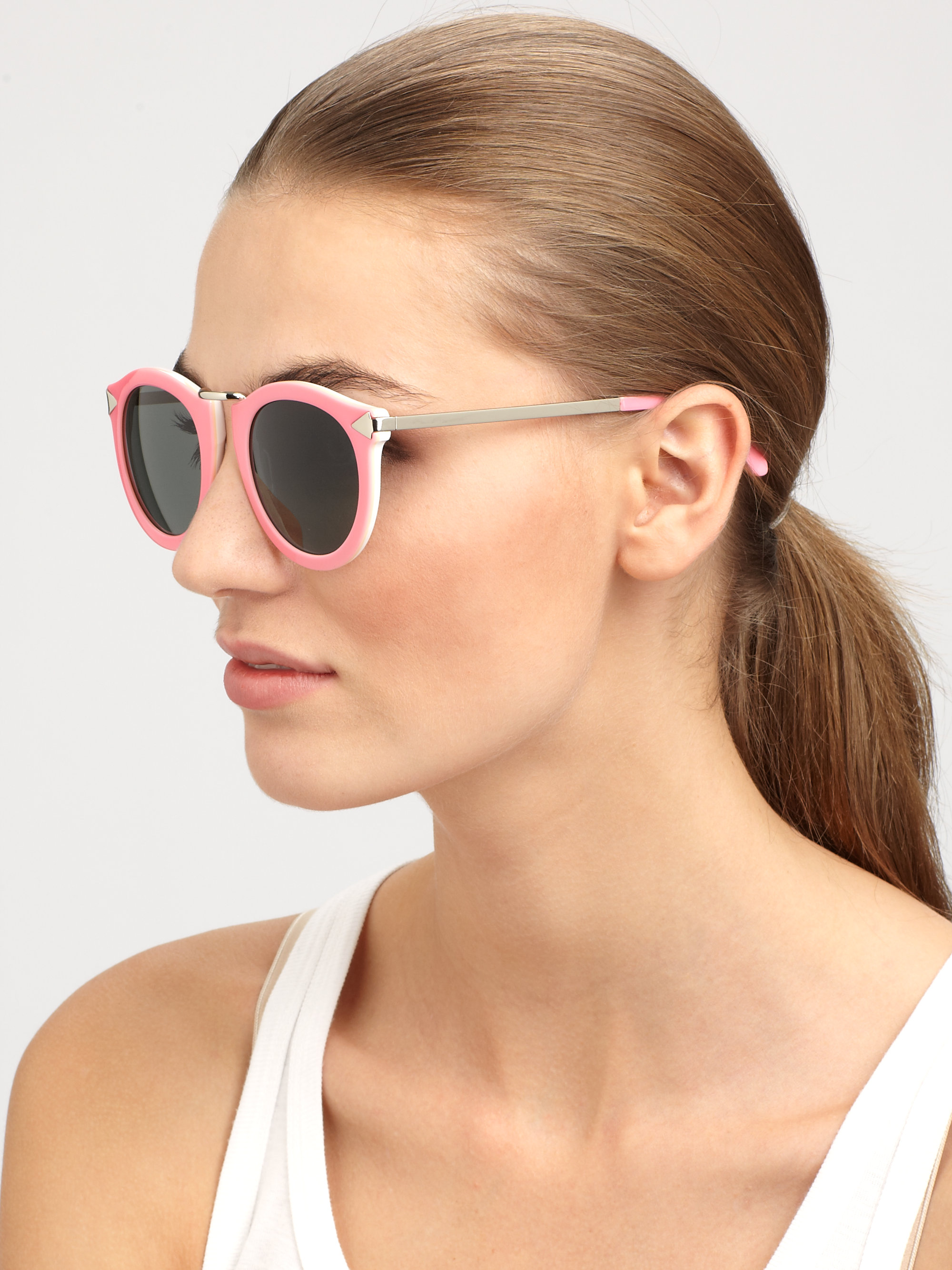 df3e9ea41d4c Gallery. Previously sold at  Saks Fifth Avenue · Women s Acetate Sunglasses  ...