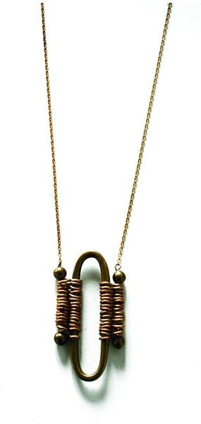 Laura Lombardi Cortona Necklace - Lyst