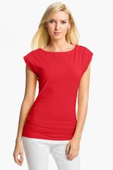 Michael by Michael Kors Boatneck Top - Lyst