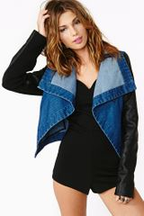 Nasty Gal Bad Habit Denim Jacket - Lyst