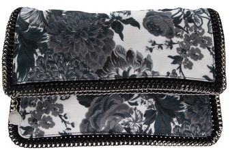 Stella McCartney Floral Print Clutch - Lyst