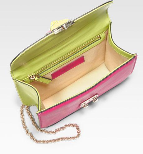 Valentino Colorblock Flap Shoulder Bag 69