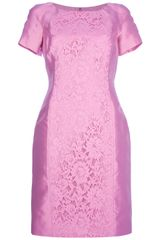 Valentino Shortsleeved Lace Dress
