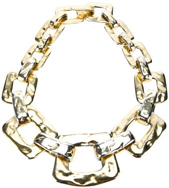 Yves Saint Laurent Vintage Large Gourmette Necklace - Lyst