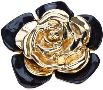 Yves Saint Laurent Vintage Rose Brooch - Lyst