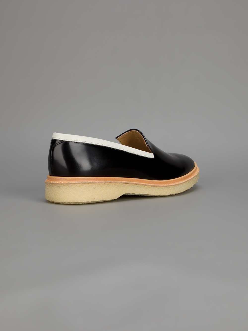 adieu slip on shoe in black for lyst