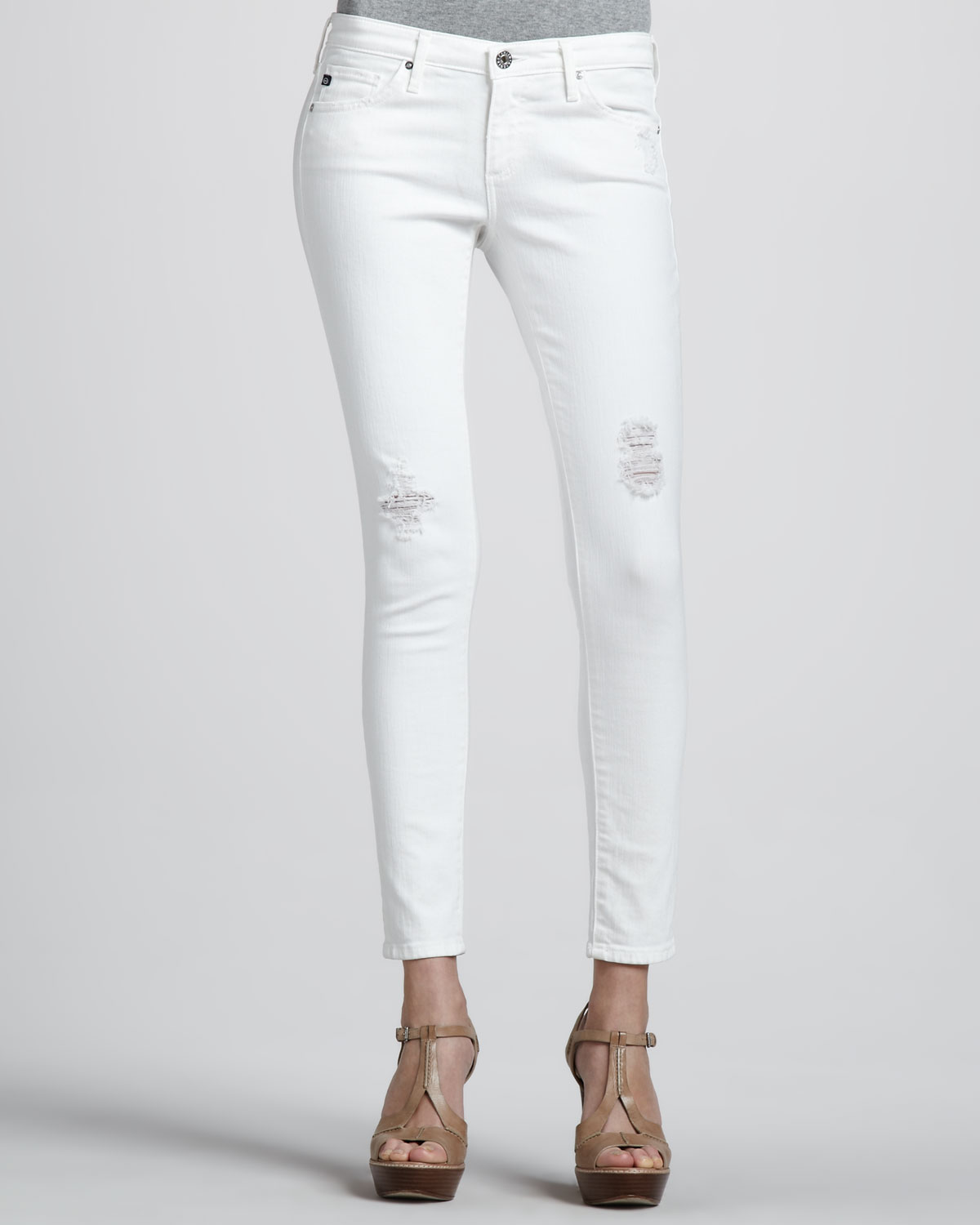 Ag White Jeans - Is Jeans