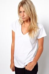 ASOS Collection Asos Tshirt with V Neck - Lyst