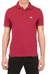 Burberry Brit Cotton Polo Shirt - Lyst