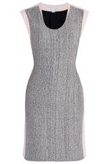 Diane Von Furstenberg Katherine Tweed Dress in Gray - Lyst