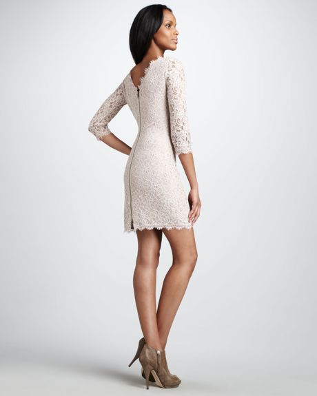 Dvf Zarita Lace Dress Zarita Lace Dress in White