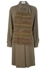Gianfranco Ferre Vintage Shift Dress - Lyst
