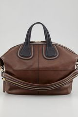 Givenchy Nightingale Medium Satchel Bag Bru - Lyst