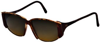 Gucci Vintage Oval Shaped Sunglasses - Lyst
