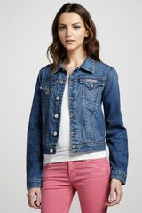 Hudson Denim Jacket - Lyst
