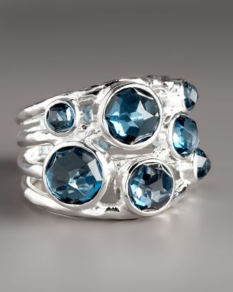 Ippolita London Blue Topaz Ring - Lyst