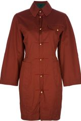 Jean Paul Gaultier Shirt Dress - Lyst