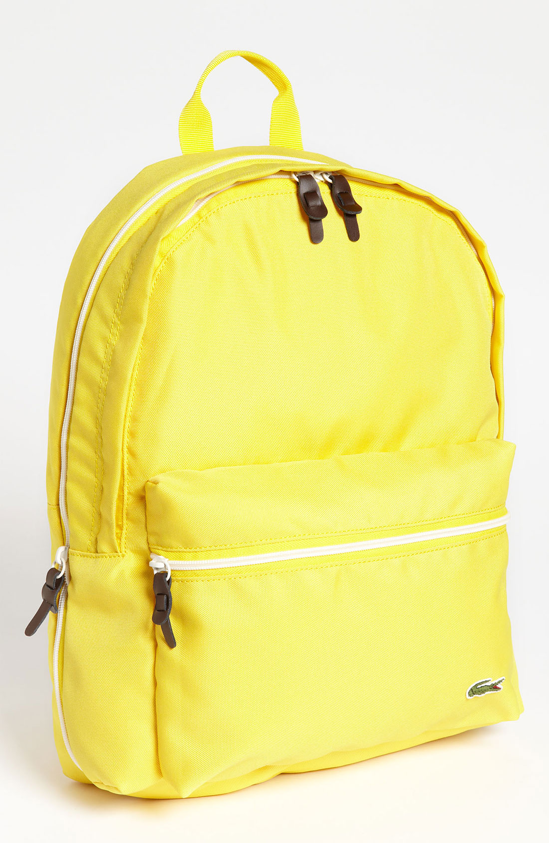 Lacoste Backpack In Yellow For Men Lyst