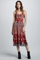 Marc By Marc Jacobs Garden Print Jersey Dress - Lyst