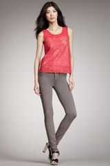 Marc By Marc Jacobs Denim Legging - Lyst