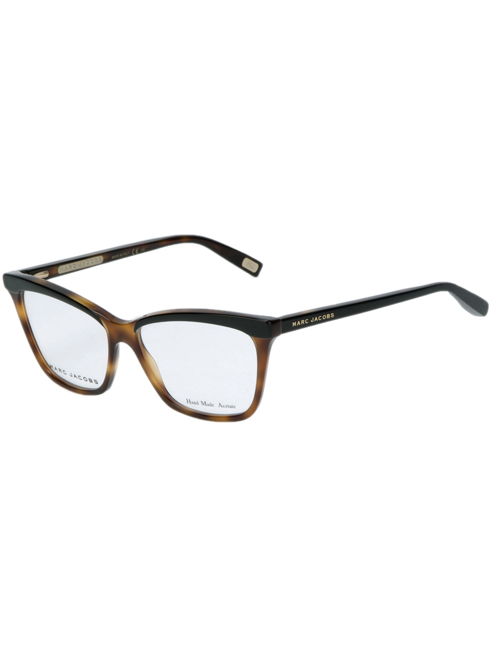 Marc Jacobs Sunglasses Women S  marc jacobs tortoise s wayfarer glasses in brown lyst
