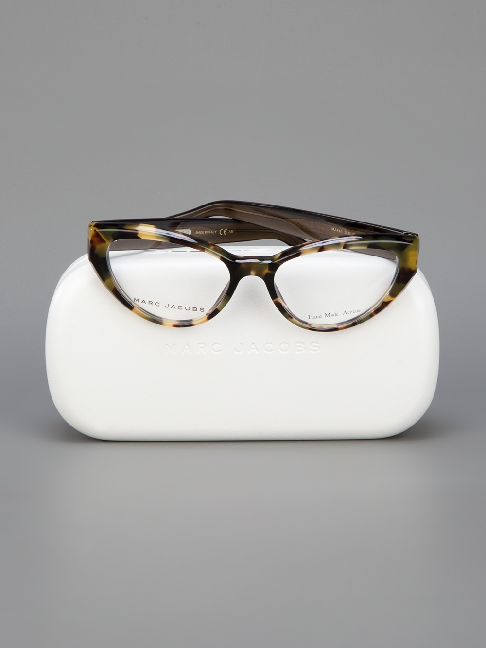 b3f67f115f5 Marc Jacobs Rounded Cat Eye Sunglasses