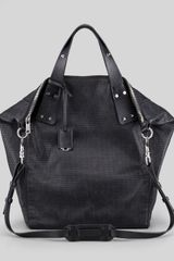 McQ by Alexander McQueen Stepney Leather Tote Bag - Lyst