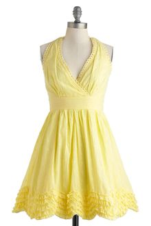 ModCloth Meadow Buttercup Dress - Lyst