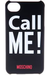 Moschino Call Me Iphone Holder - Lyst
