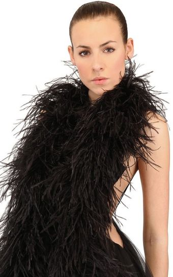 Nana' Ostrich Feather Boa - Lyst