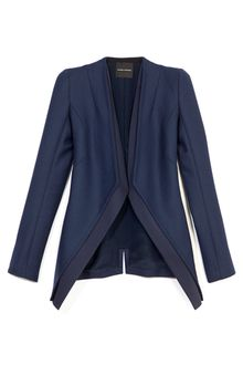 Narciso Rodriguez Wool Twill Jacket - Lyst