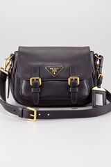Prada Vitello Daino Messenger Bag - Lyst