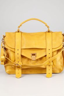Proenza Schouler Medium Satchel Bag Mustard - Lyst