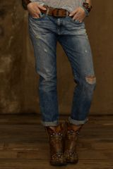 Denim & Supply Oceanside Wash Boyfriend Jean - Lyst