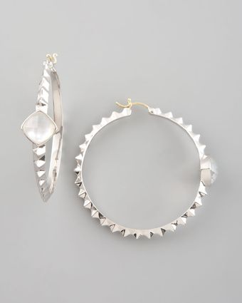 Stephen Webster Crystal Haze Hoop Earring - Lyst
