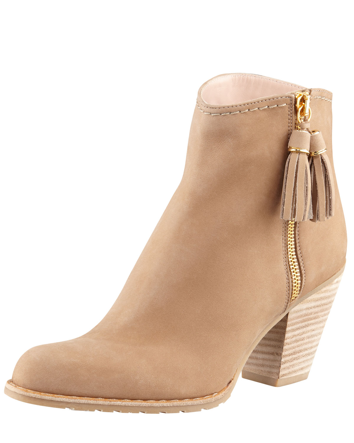Tan Ankle Boots For Women - Yu Boots