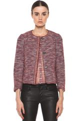 RED Valentino Tweed Jacket  - Lyst