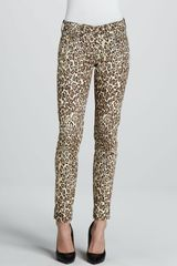7 For All Mankind Slim Cigarette Pants - Lyst
