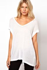 ASOS Collection Asos T-Shirt in Sheer Slouch - Lyst