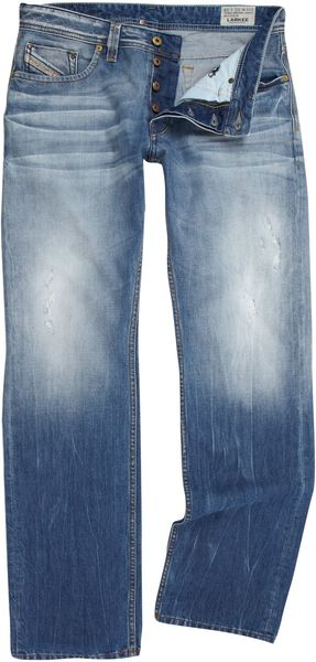 Diesel Larkee 810n Regular Straight Jeans - Lyst