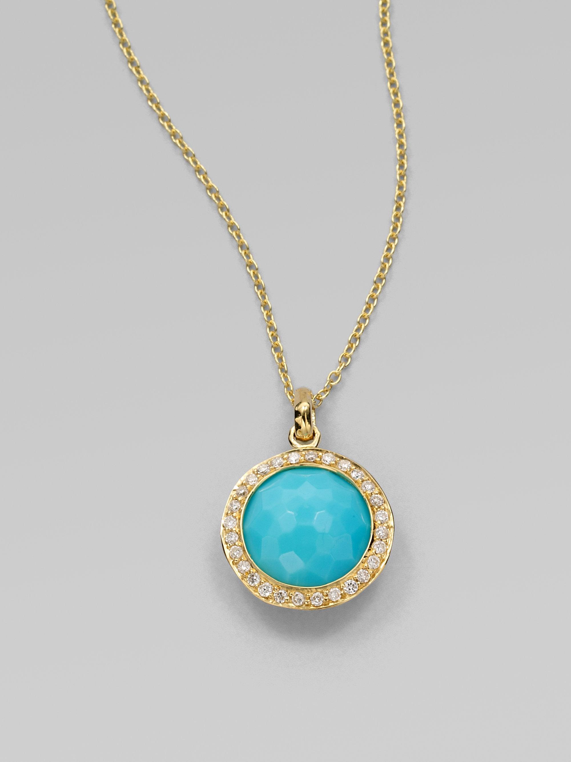 Lyst - Ippolita Lollipop Turquoise d27831a46