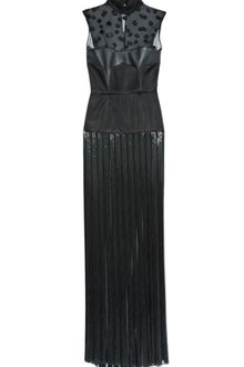 Jason Wu Sleeveless Combo Bustier Beaded Gown - Lyst