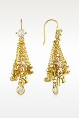 Juicy Couture Juicy Ransom Note Earrings - Lyst