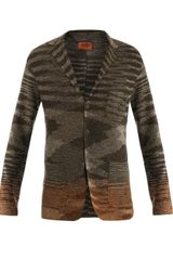 Missoni Linen Cotton Single Breasted Jacket - Lyst