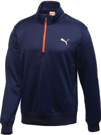 Puma Golf Solid 14 Zip Popover - Lyst