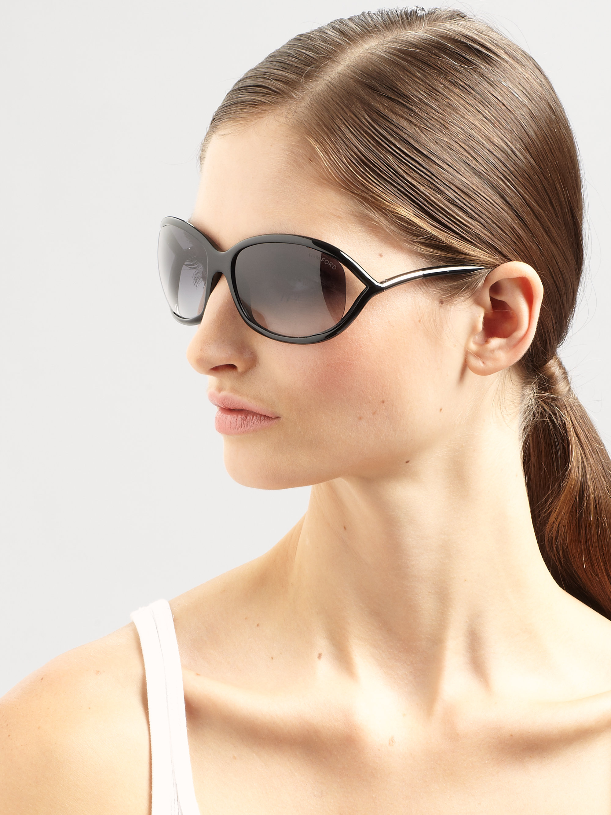 tom ford jennifer acetate sunglasses in black lyst. Cars Review. Best American Auto & Cars Review