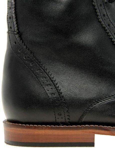 Asos Leather Sole Brogue Boots Asos Asos Brogue Boots